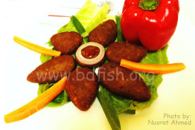 টুনা কাটলেট (Tuna Cutlet)